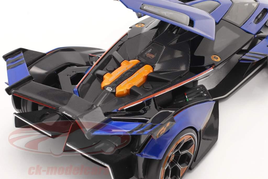 Lamborghini V12 Vision GT 2020 blau / schwarz 1:18 Maisto