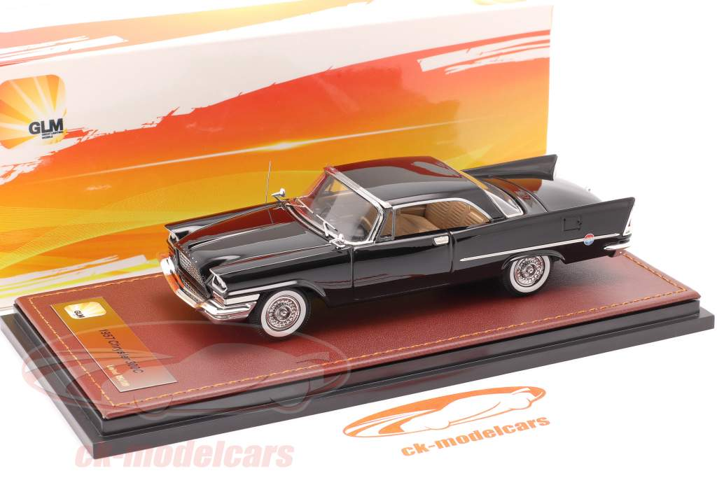 Chrysler 300C Hardtop year 1957 black 1:43 GLM