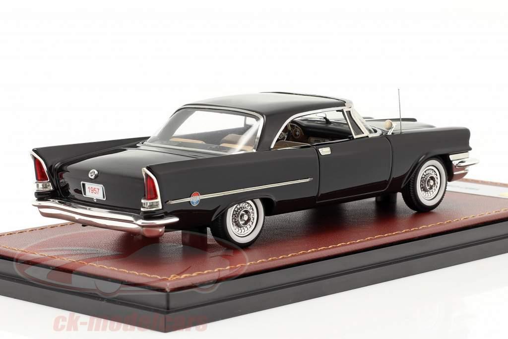 Chrysler 300C Hardtop Byggeår 1957 sort 1:43 GLM
