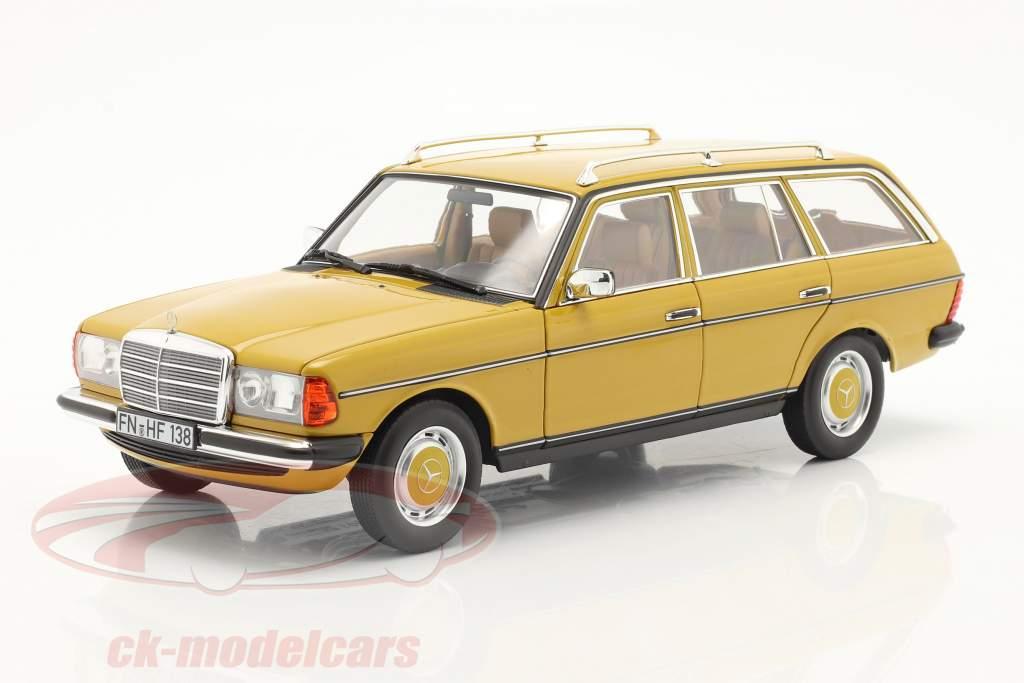 Mercedes-Benz 200 T-Modell (S123) Baujahr 1982 gelb 1:18 Norev
