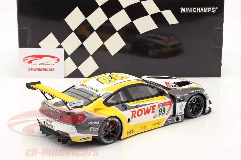 BMW M6 GT3 #99 vinder 24h Nürburgring 2020 Rowe Racing 1:18 Minichamps
