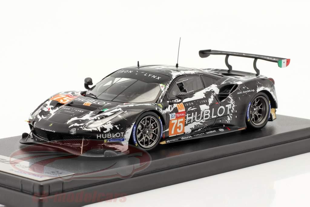 Ferrari 488 GTE Evo #75 24h LeMans 2020 Iron Lynx 1:43 LookSmart