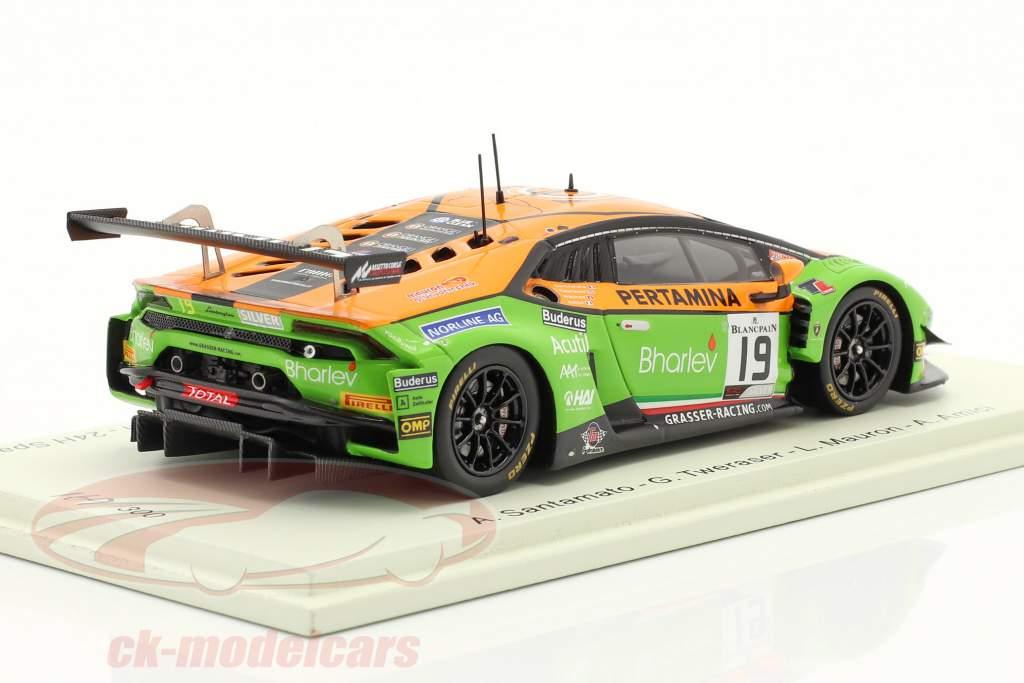 Lamborghini Huracan GT3 Evo #19 24h Spa 2019 GRT Grasser Racing Team 1:43 Spark