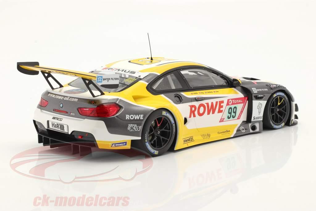 BMW M6 GT3 #99 gagnant 24h Nürburgring 2020 Rowe Racing 1:18 Minichamps