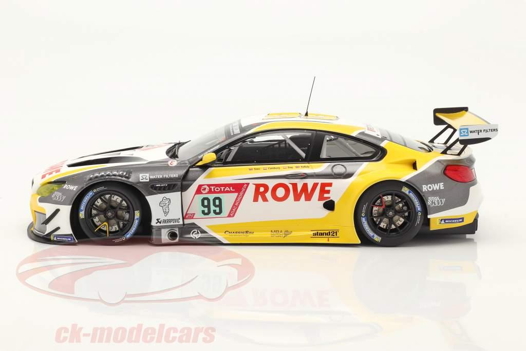 BMW M6 GT3 #99 winnaar 24h Nürburgring 2020 Rowe Racing 1:18 Minichamps