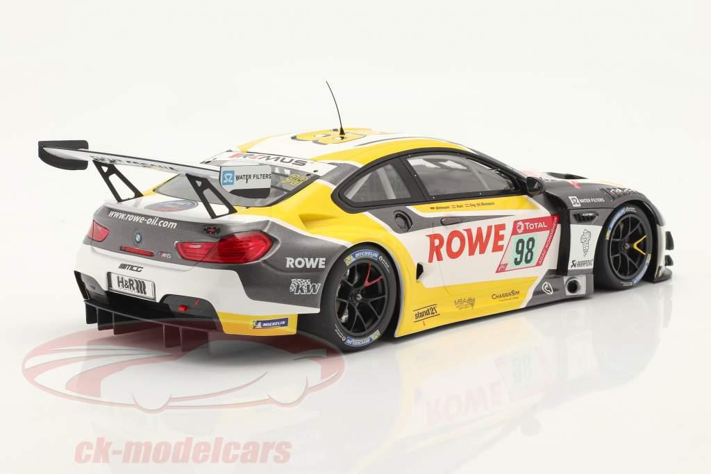 BMW M6 GT3 #98 Cuarto 24h Nürburgring 2020 Rowe Racing 1:18 Minichamps