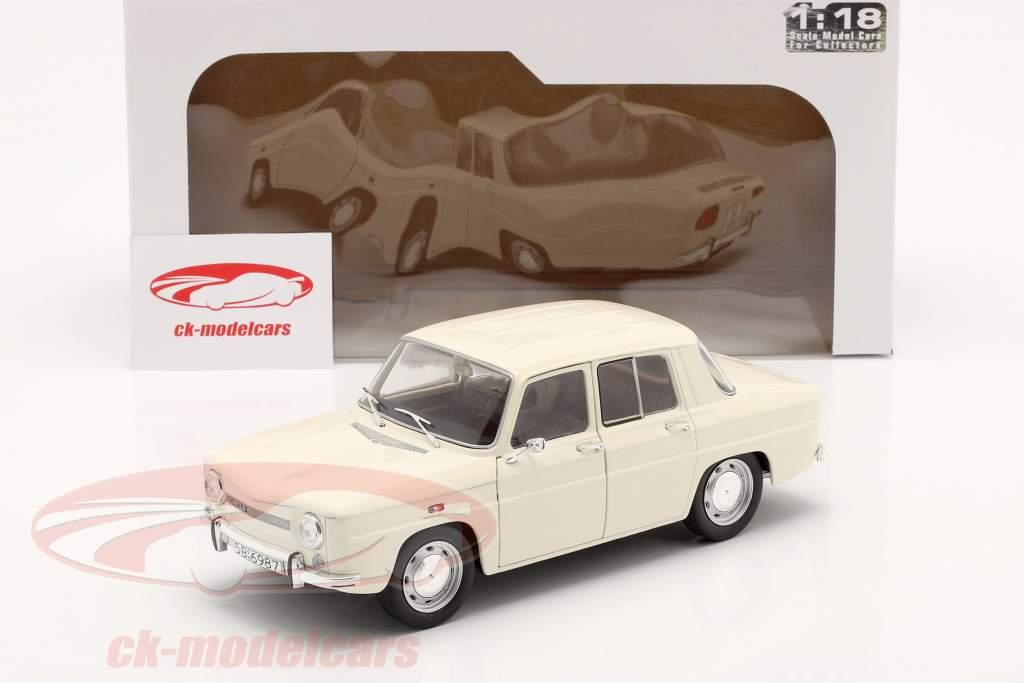 Dacia 1100 année 1968 blanc 1:18 Solido