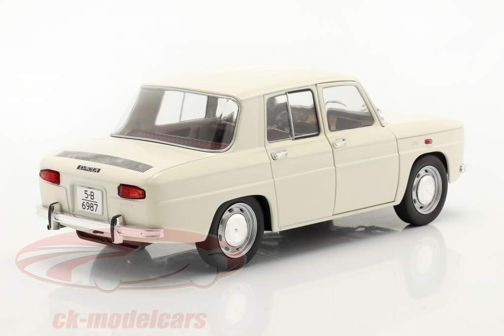 Dacia 1100 årgang 1968 hvid 1:18 Solido