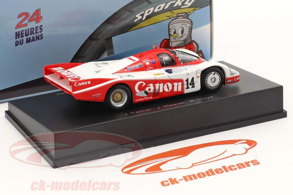 Porsche 956 #14 2nd 24h LeMans 1985 Palmer, Weaver, Lloyd 1:64 Spark