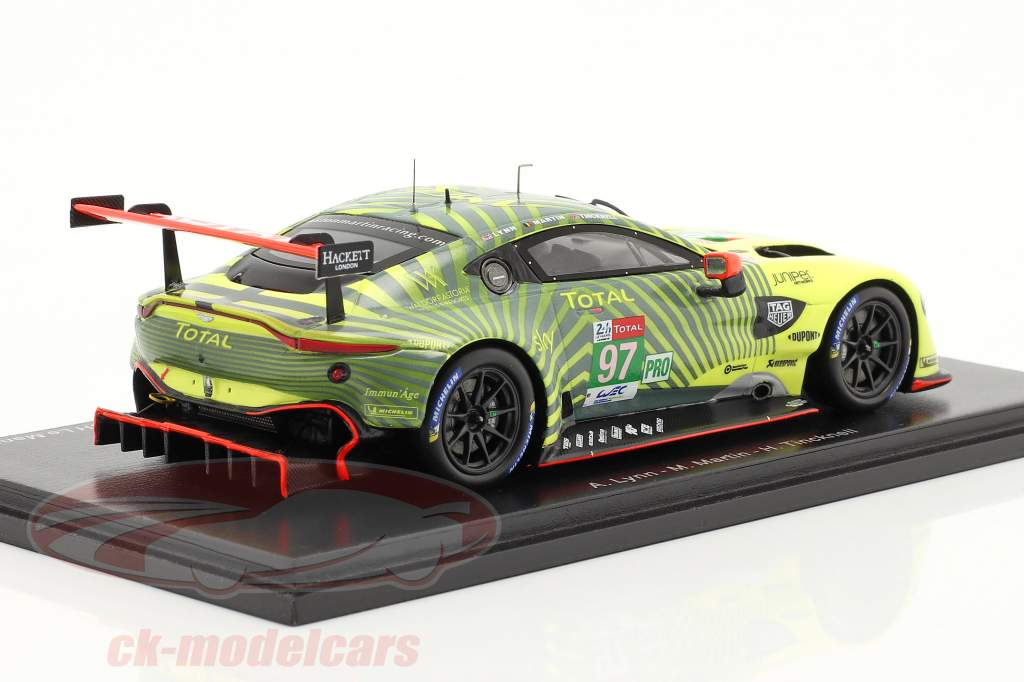 Aston Martin Vantage AMR #97 winnaar LMGTE-Pro 24h LeMans 2020 1:43 Spark