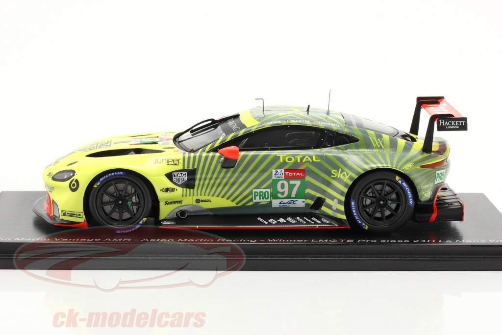 Aston Martin Vantage AMR #97 ganador LMGTE-Pro 24h LeMans 2020 1:43 Spark