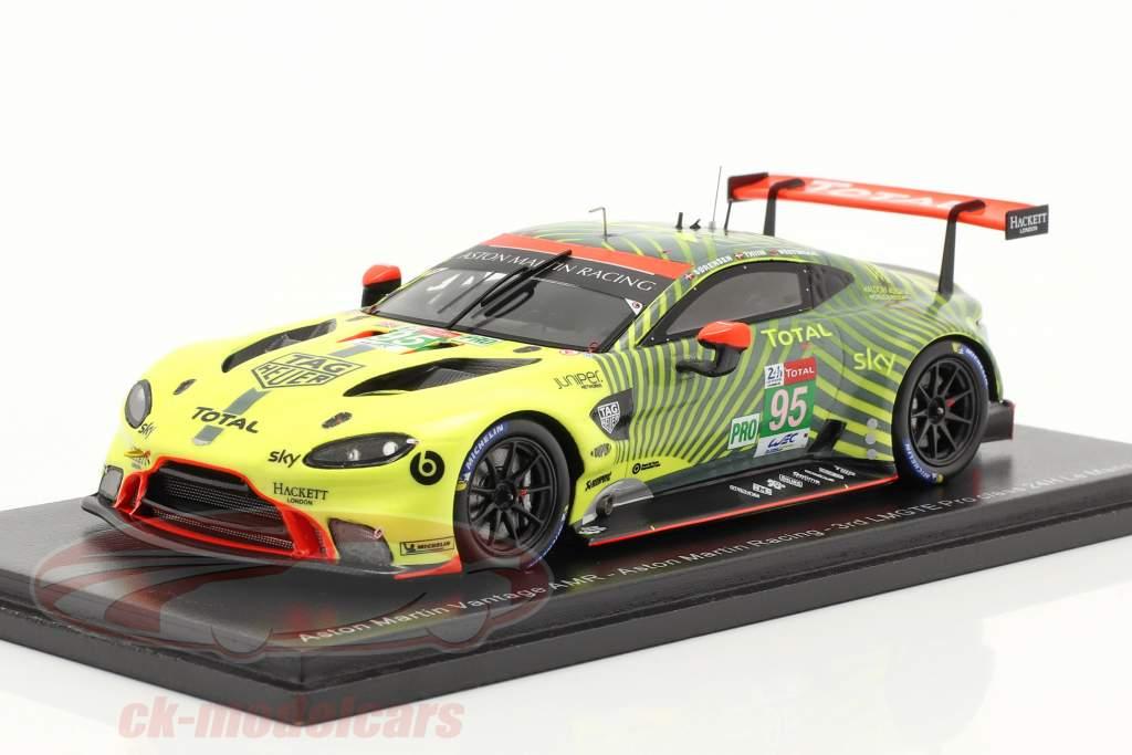 Aston Martin Vantage AMR #95 3rd LMGTE-Pro 24h LeMans 2020 1:43 Spark