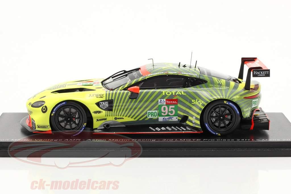 Aston Martin Vantage AMR #95 3e LMGTE-Pro 24h LeMans 2020 1:43 Spark