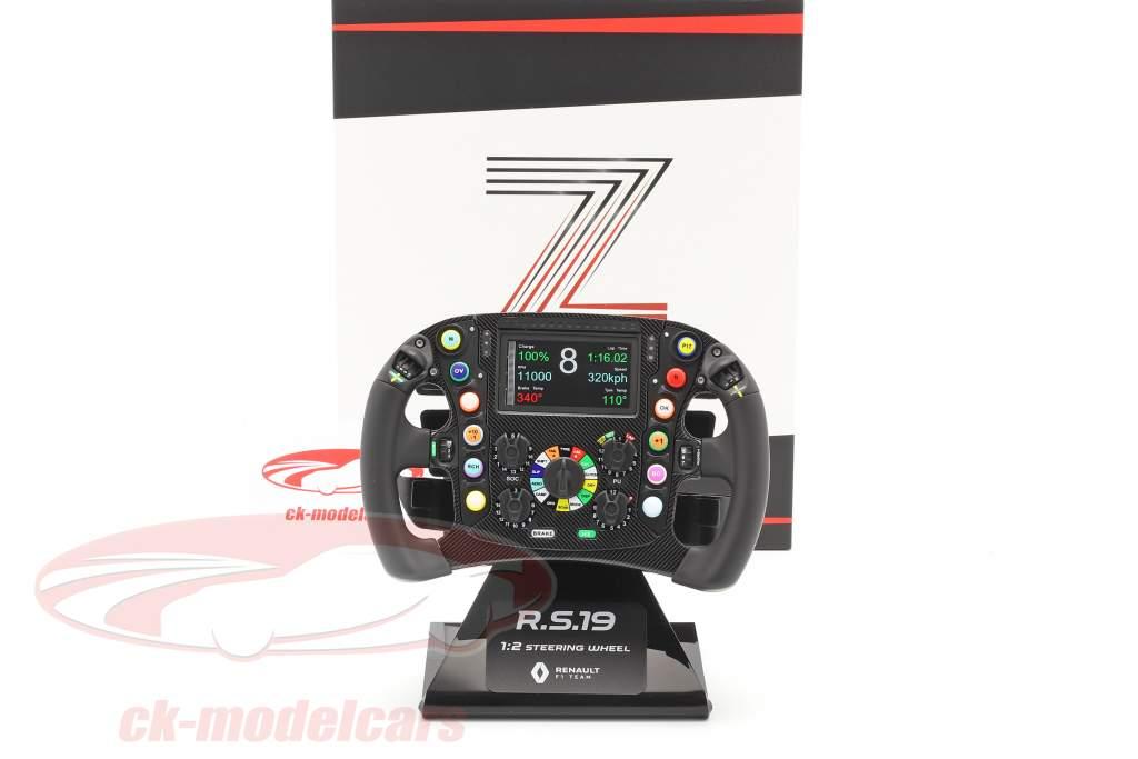 Hülkenberg, Ricciardo Renault R.S.19 formula 1 2019 steering wheel 1:2 Z-Models
