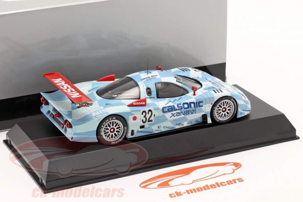 Nissan R390 GT1 #32 3. Platz 24h LeMans 1998 1:43 Kyosho