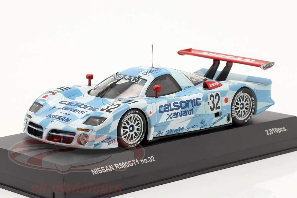 Nissan R390 GT1 #32 3° posto 24h LeMans 1998 1:43 Kyosho