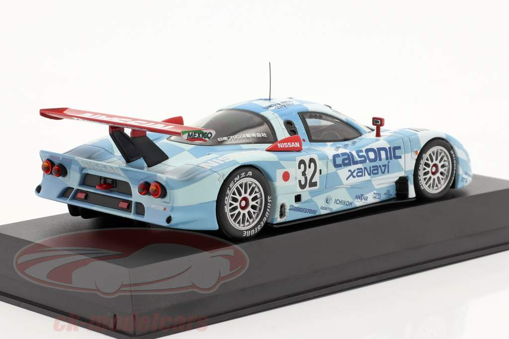 Nissan R390 GT1 #32 3rd place 24h LeMans 1998 1:43 Kyosho