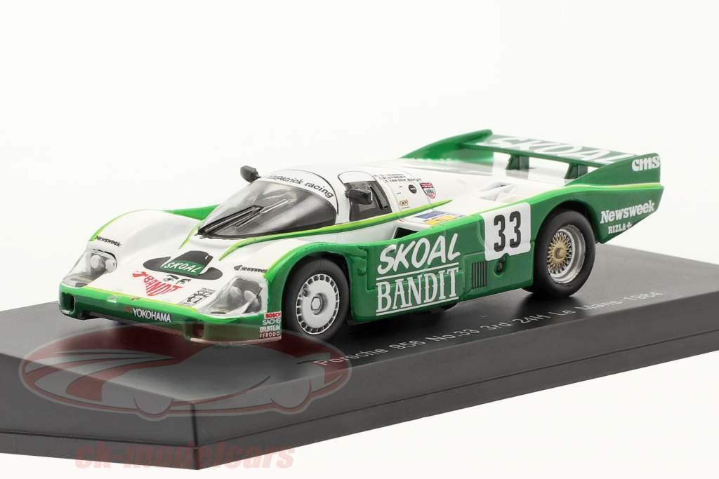 Porsche 956B #33 3. 24h LeMans 1984 Hobbs, Streiff, van der Merwe 1:64 Spark