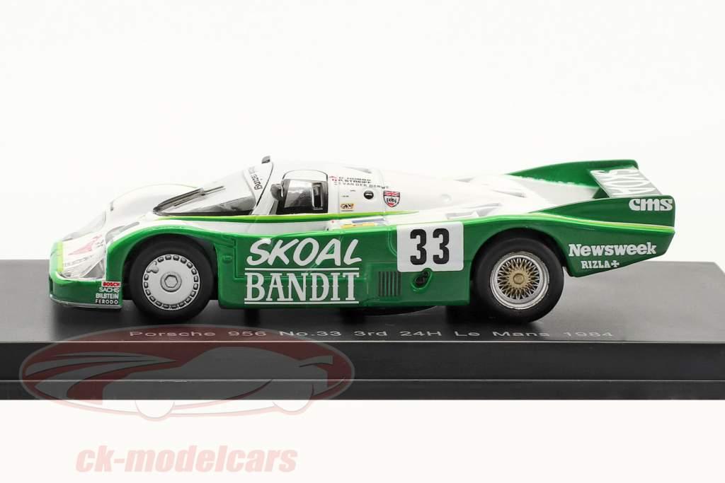 Porsche 956B #33 3e 24h LeMans 1984 Hobbs, Streiff, van der Merwe 1:64 Spark