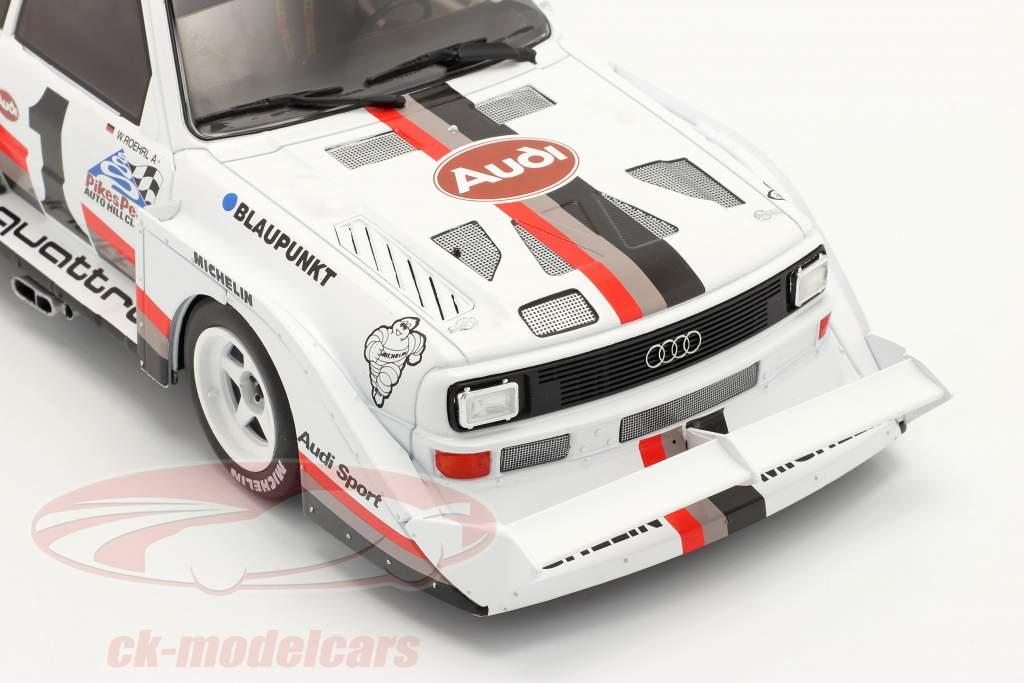 Audi Sport quattro S1 E2 #1 Gagnant Pikes Peak 1987 Walter Röhrl 1:18 CMR