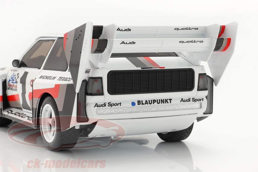 Audi Sport quattro S1 E2 #1 Winner Pikes Peak 1987 Walter Röhrl 1:18 CMR