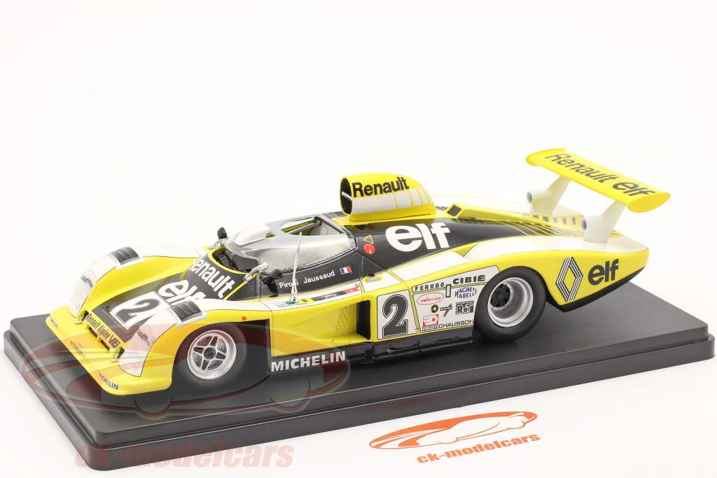 Renault Alpine A442B #2 gagnant 24h LeMans 1978 Pironi, Jaussaud 1:24 Hachette