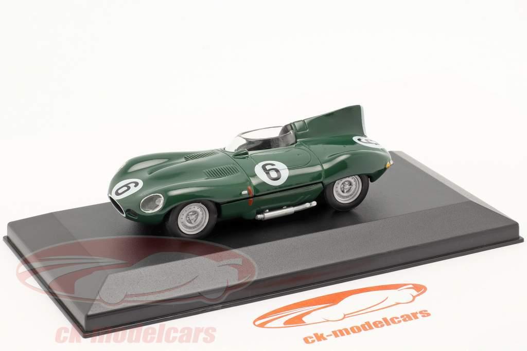Jaguar D-Type #6 verde scuro 1:43 Altaya