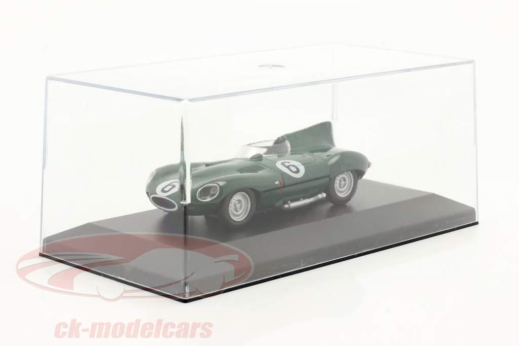 Jaguar D-Type #6 mørkegrøn 1:43 Altaya