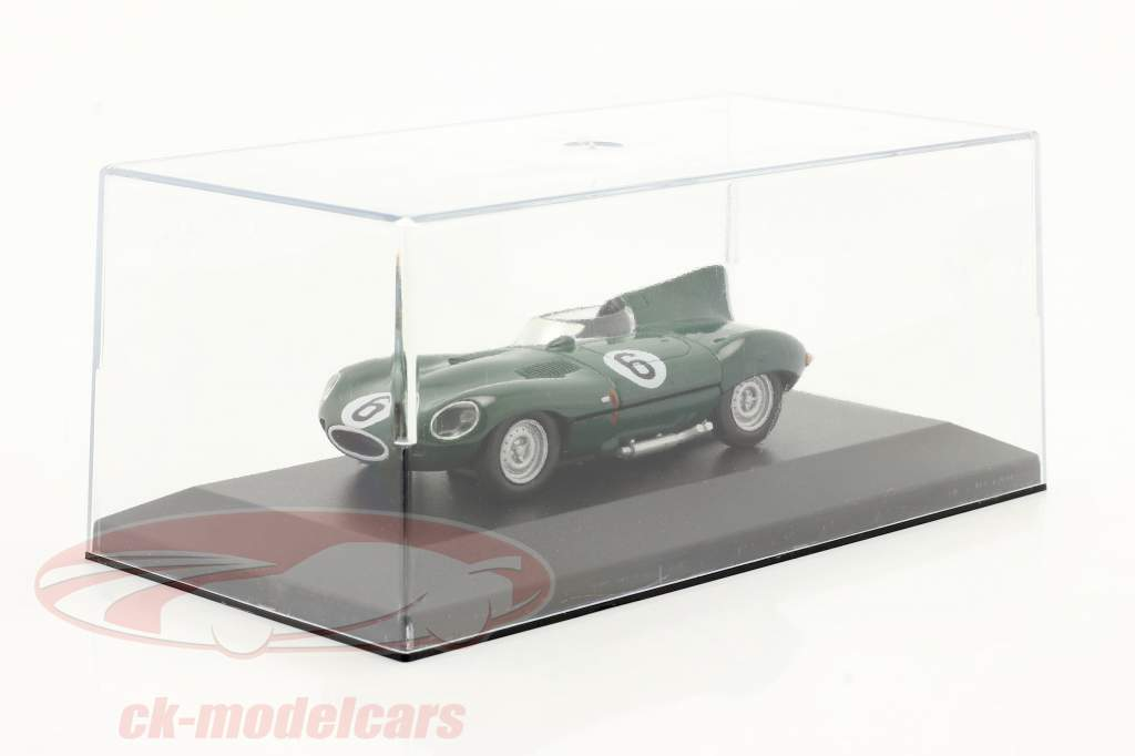 Jaguar D-Type #6 verde oscuro 1:43 Altaya
