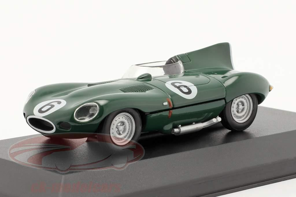 Jaguar D-Type #6 donkergroen 1:43 Altaya