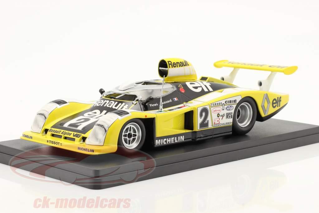 Renault Alpine A442B #2 vencedora 24h LeMans 1978 Pironi, Jaussaud 1:24 Hachette