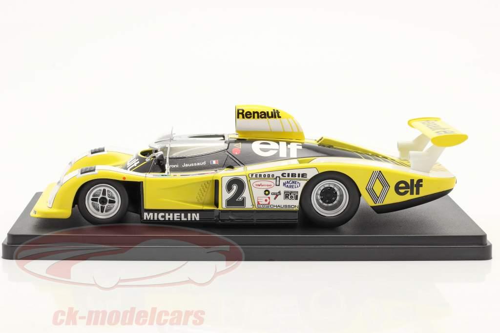 Renault Alpine A442B #2 vincitore 24h LeMans 1978 Pironi, Jaussaud 1:24 Hachette