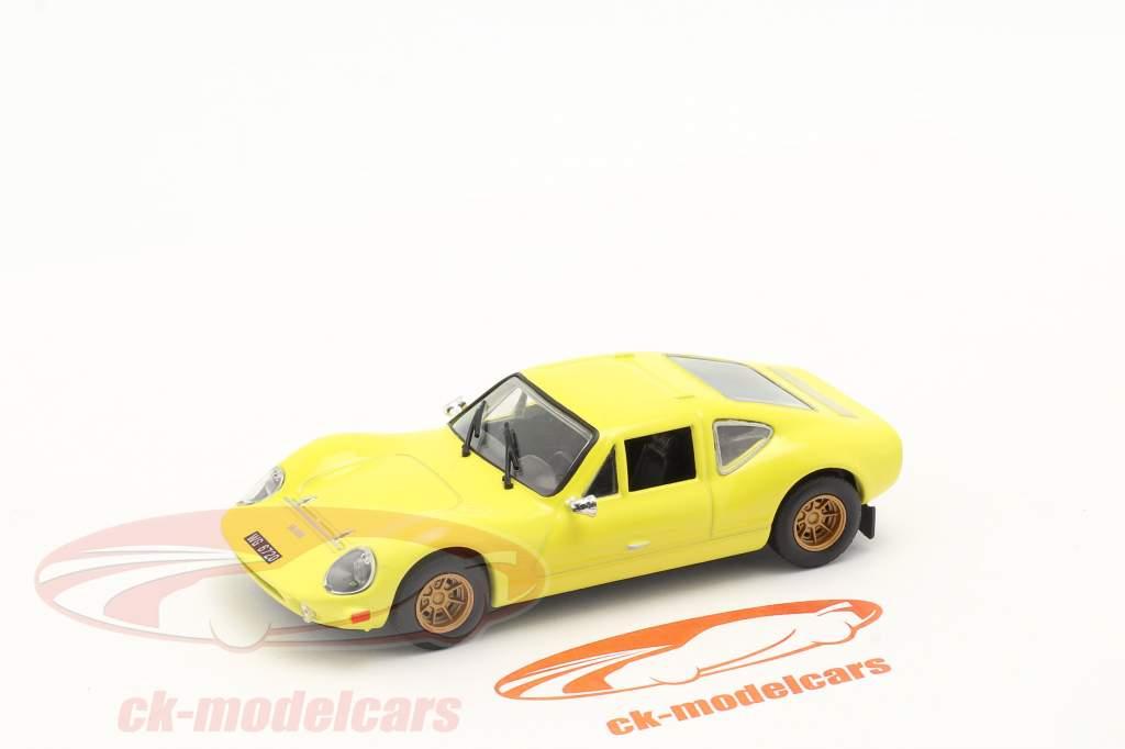 Melkus RS1000 bouwjaar 1969-73 geel 1:43 Altaya