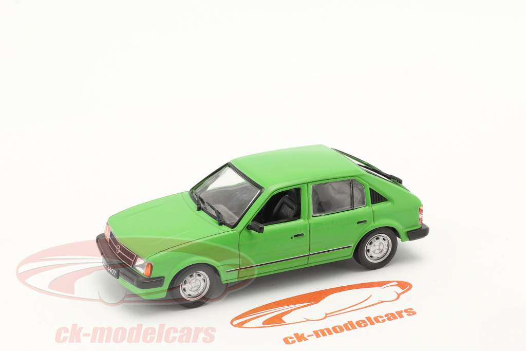 Opel Kadett D Año de construcción 1979-84 verde 1:43 Altaya