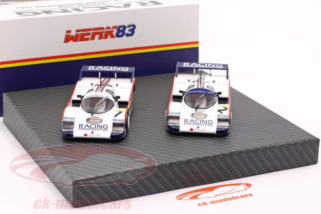 2-auto Set Porsche 956K #1 & #2 1000km Nürburgring 1983 1:43 Werk83