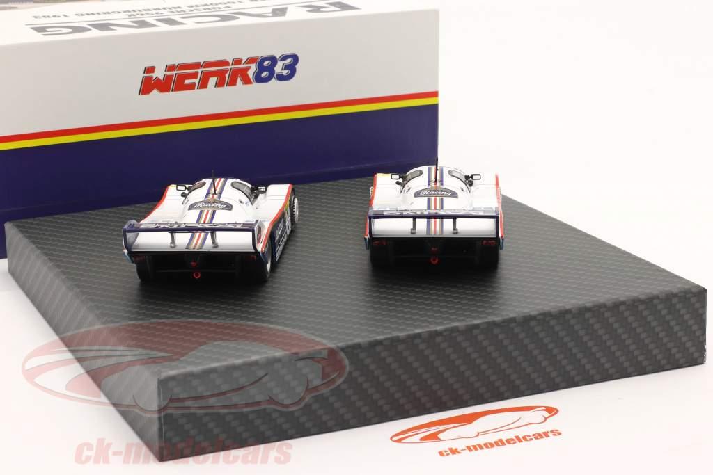 2-bil Set Porsche 956K #1 & #2 1000km Nürburgring 1983 1:43 Werk83