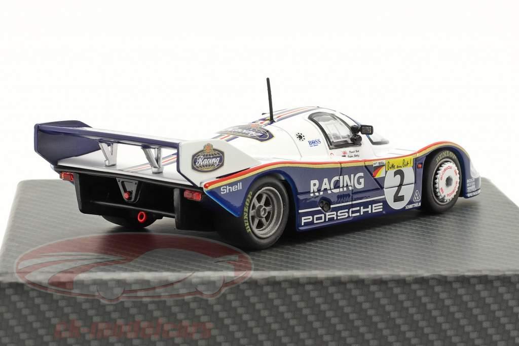 Porsche 956K #2 Volta recorde 1000km Nürburgring 1983 Bellof, Bell 1:43 Werk83