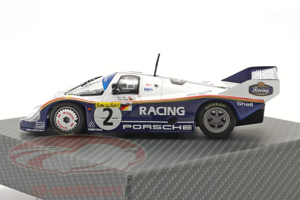 Porsche 956K #2 Registra giro 1000km Nürburgring 1983 Bellof, Bell 1:43 Werk83