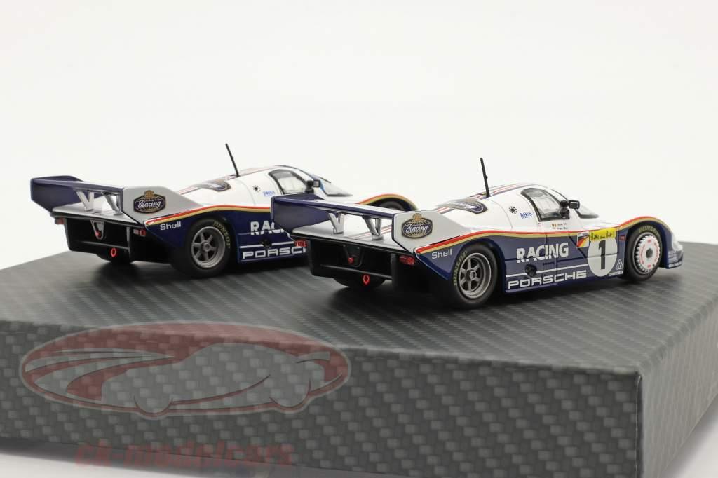 2 voitures Set Porsche 956K #1 & #2 1000km Nürburgring 1983 1:43 Werk83