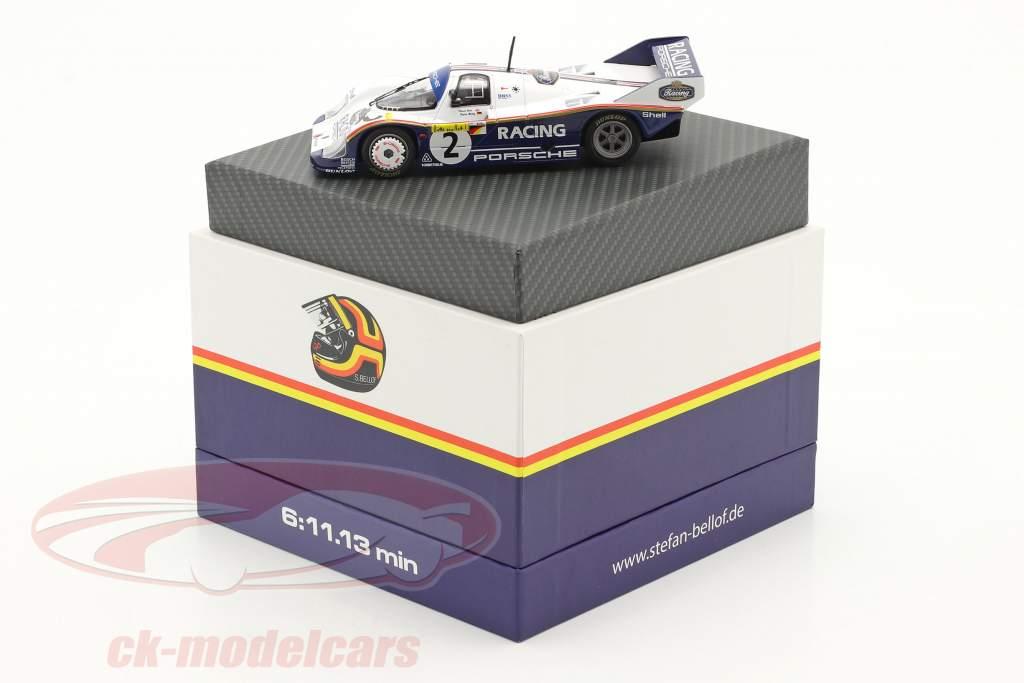 Porsche 956K #2 Record lap 1000km Nürburgring 1983 Bellof, Bell 1:43 Werk83