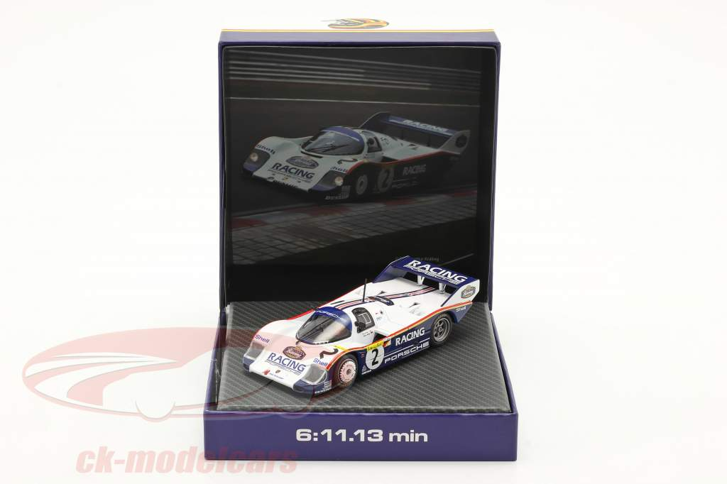 Porsche 956K #2 Rekord omgang 1000km Nürburgring 1983 Bellof, Bell 1:43 Werk83