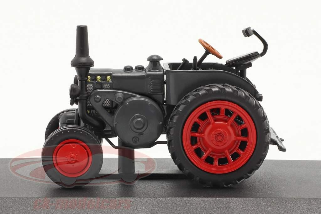 Lanz D 7506 Bulldog voor alle doeleinden bouwjaar 1939 donkergrijs 1:43 Hachette