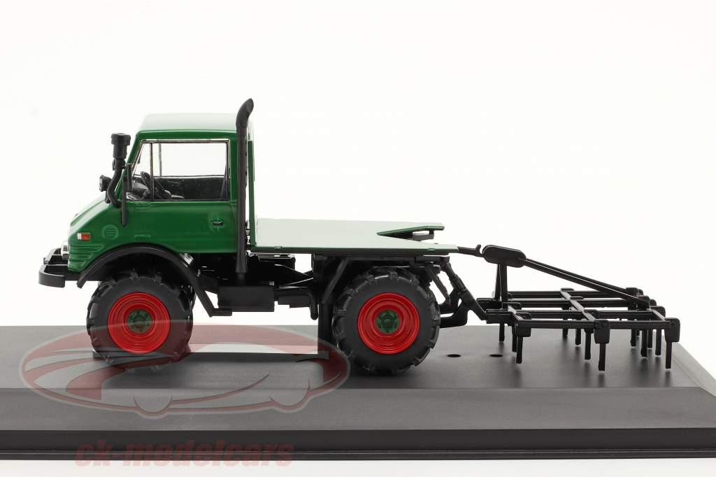 Mercedes-Benz Unimog 406 Byggeår 1977 grøn 1:43 Hachette