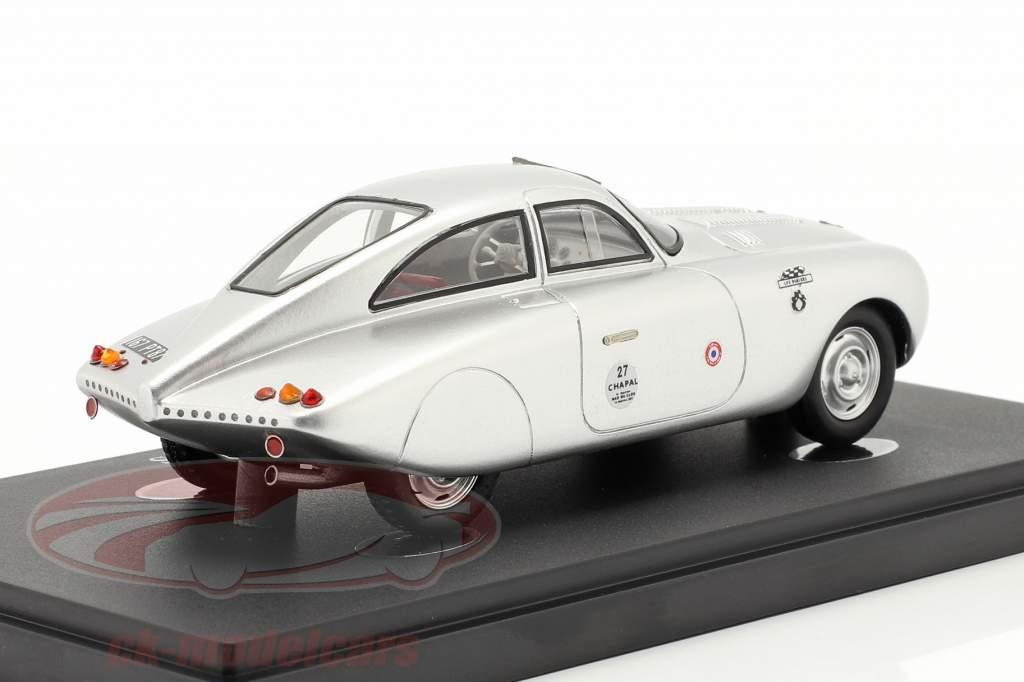 Peugeot 203 Darl'Mat DS Année de construction 1953 argent 1:43 AutoCult