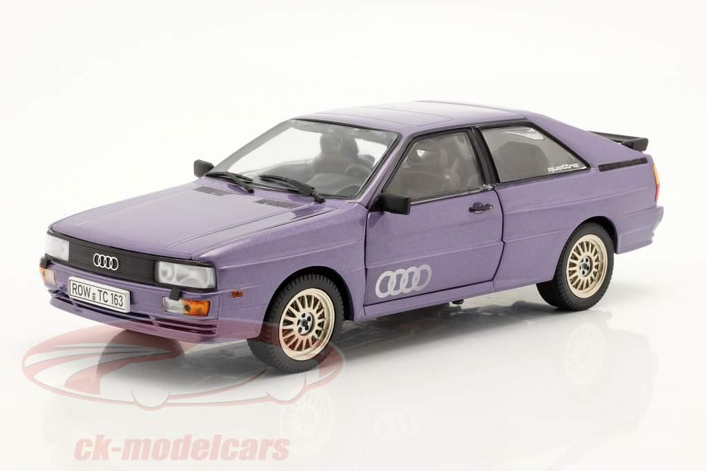 Audi Quattro Coupe Année de construction 1983 mauve 1:18 SunStar