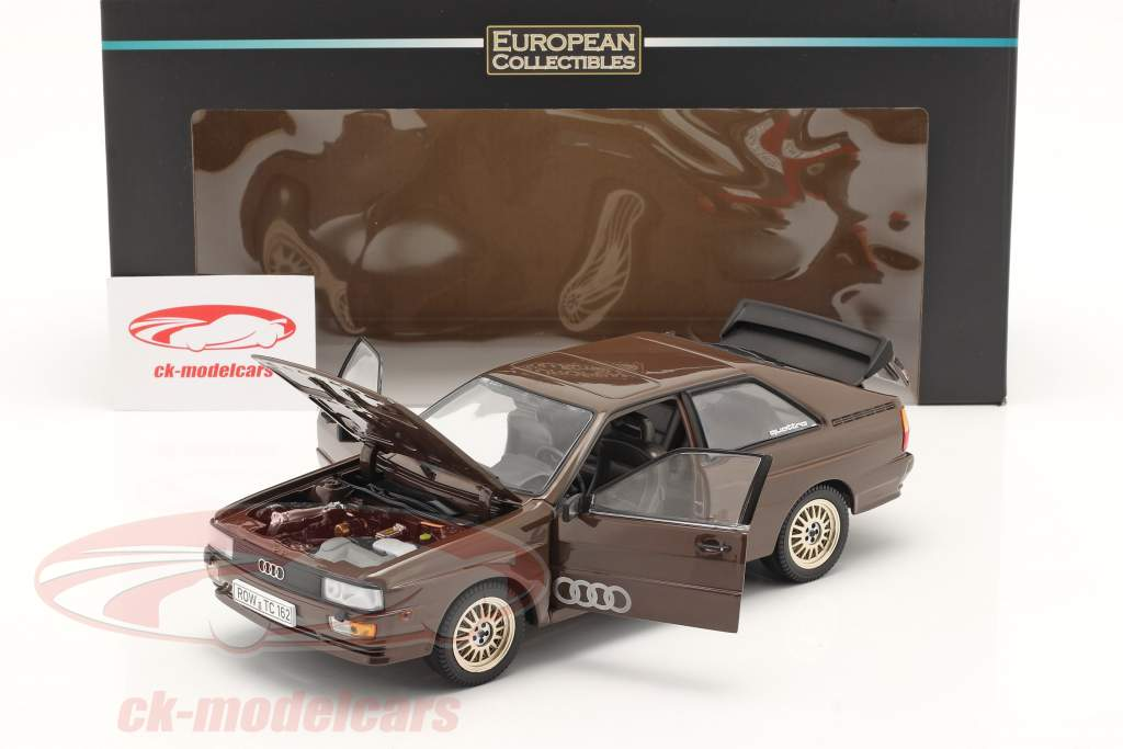 Audi Quattro Coupe Année de construction 1983 brun 1:18 SunStar