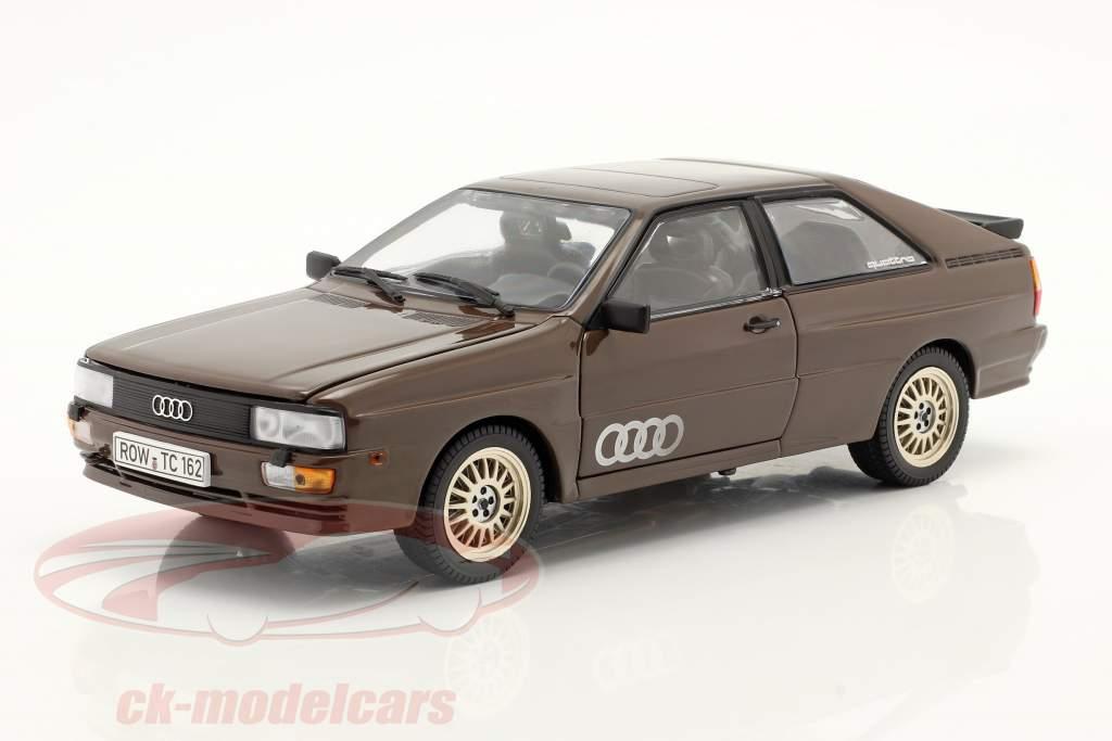 Audi Quattro Coupe Año de construcción 1983 marrón 1:18 SunStar