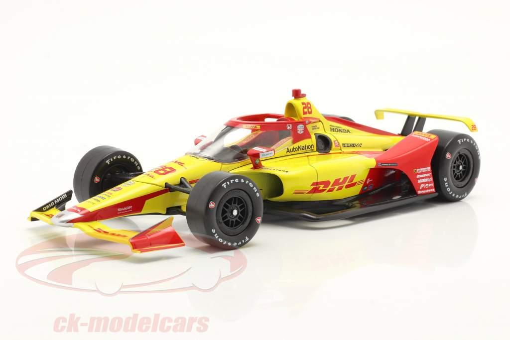 Ryan Hunter-Reay Andretti Autosport #28 IndyCar Series 2021 1:18 Greenlight