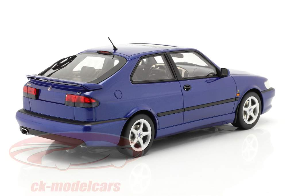 Saab 9-3 Viggen Coupe Baujahr 2000 blau metallic 1:18 DNA Collectibles