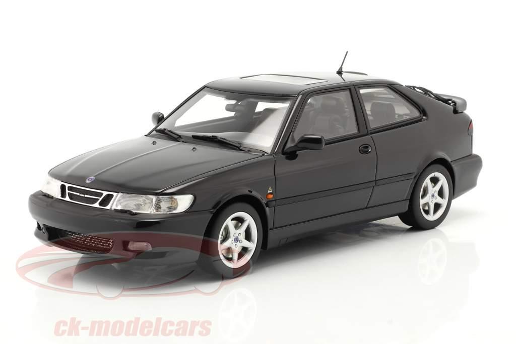 Saab 9-3 Viggen Coupe Anno di costruzione 2000 Nero metallico 1:18 DNA Collectibles